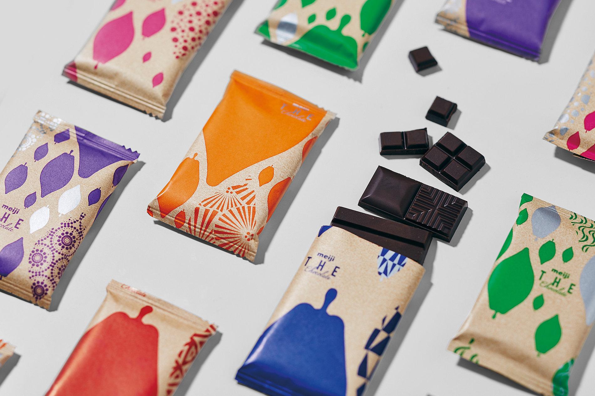meiji THE Chocolate   Red Dot Design Award