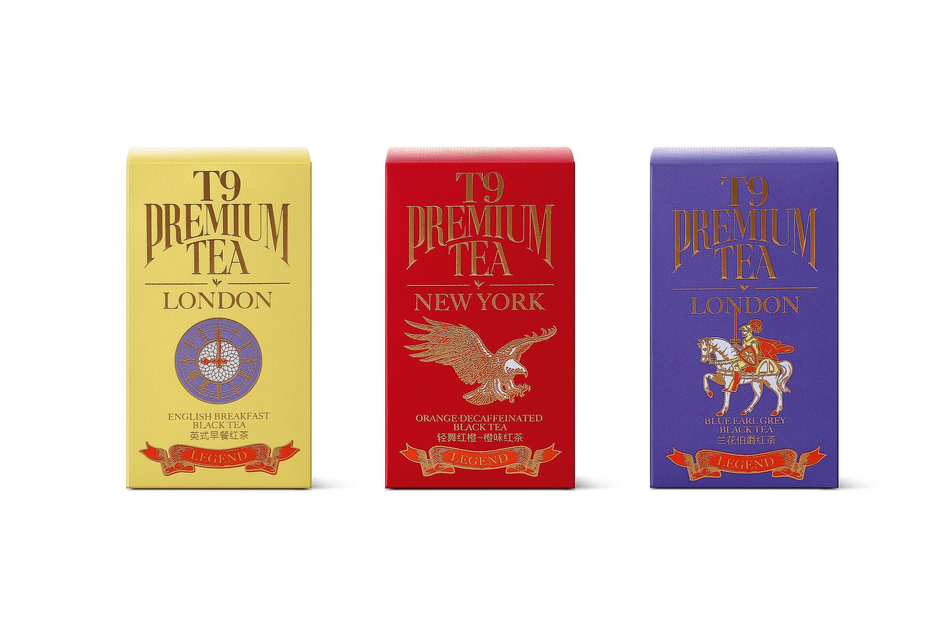 T9 Premium Tea Legend Collection   Red Dot Design Award