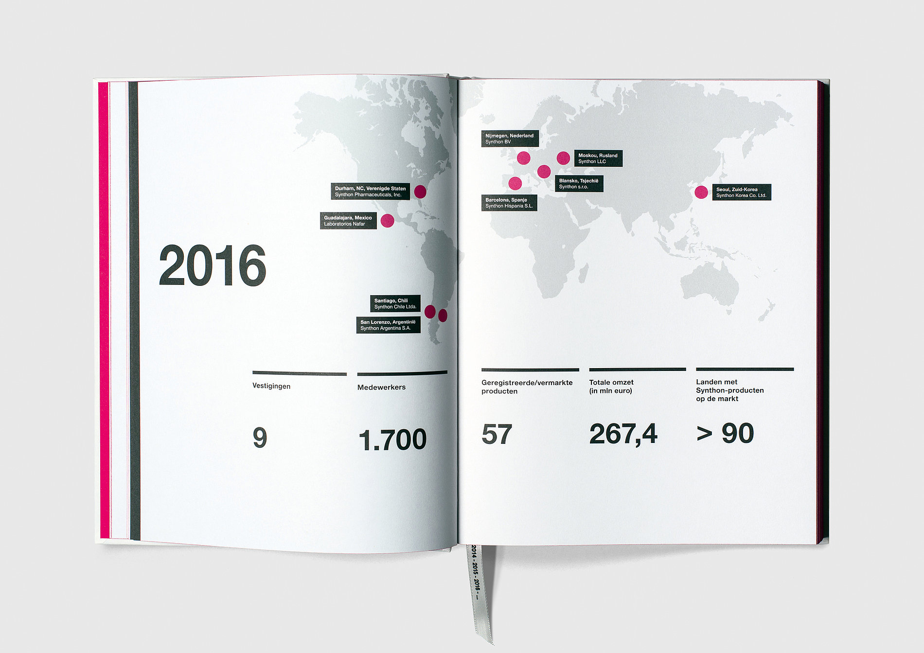 Synthon Anniversary Book | Red Dot Design Award
