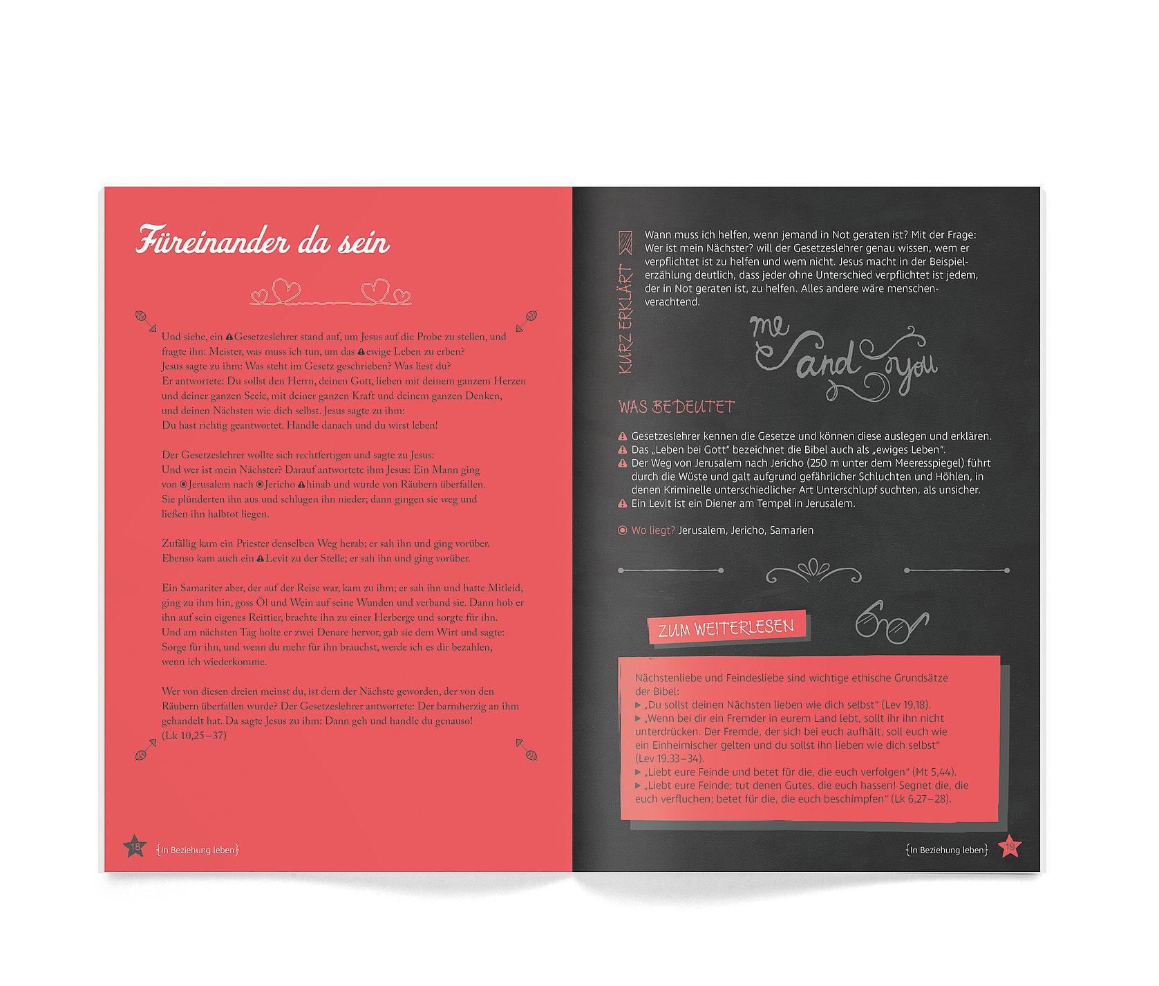 Die Bibel – Mit Sonderseiten für junge Menschen The Bible for Young Adults | Red Dot Design Award