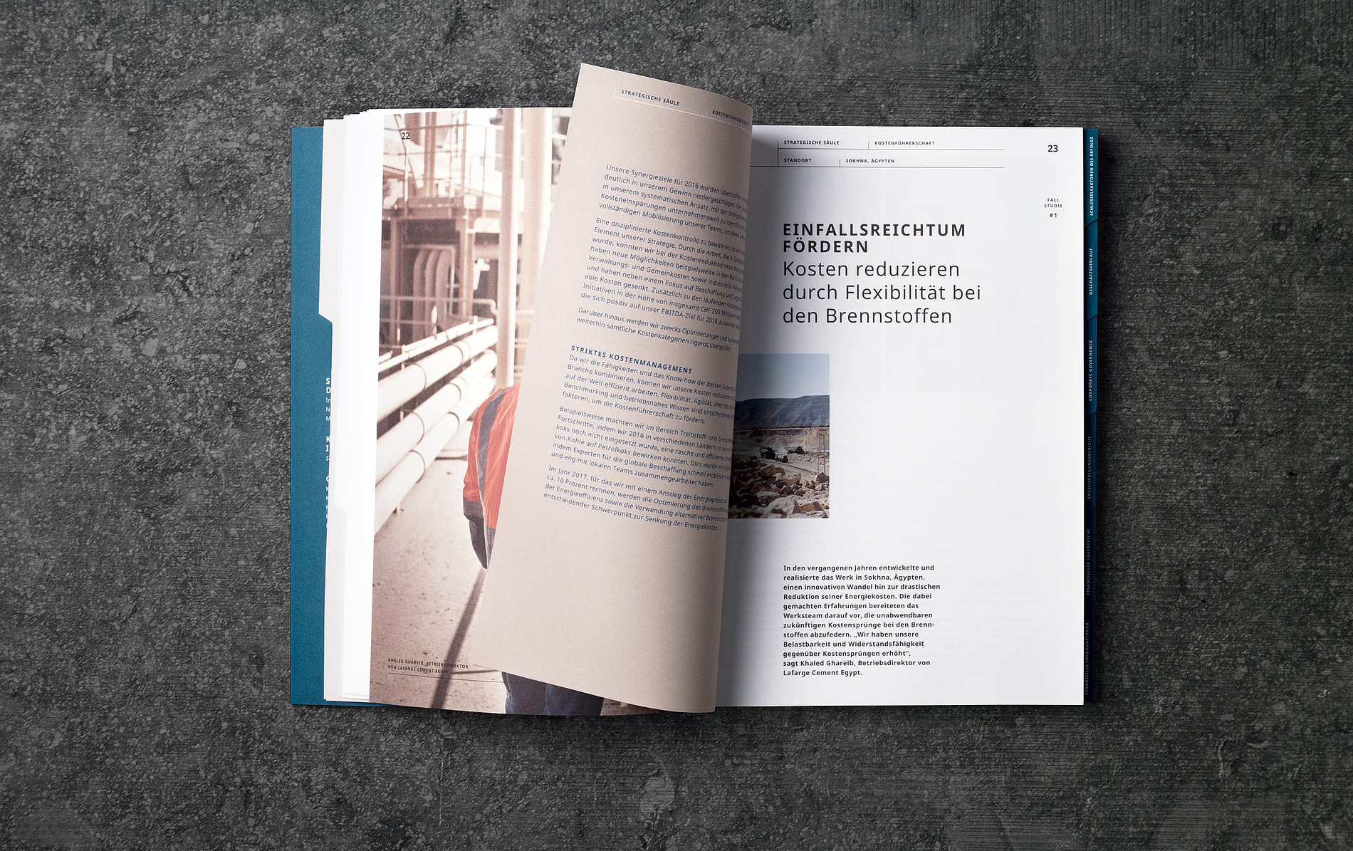LafargeHolcim Annual Report 2016 | Red Dot Design Award