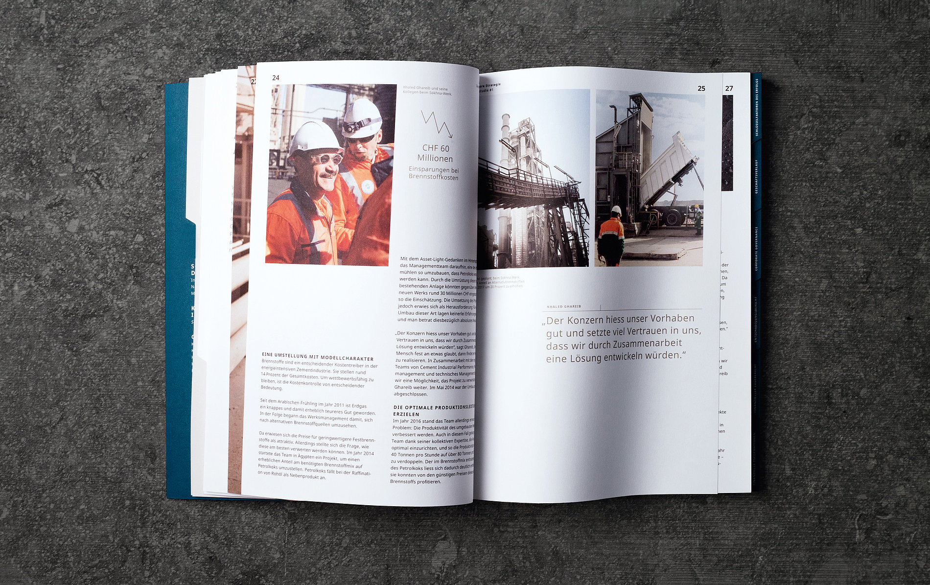LafargeHolcim Annual Report 2016   Red Dot Design Award
