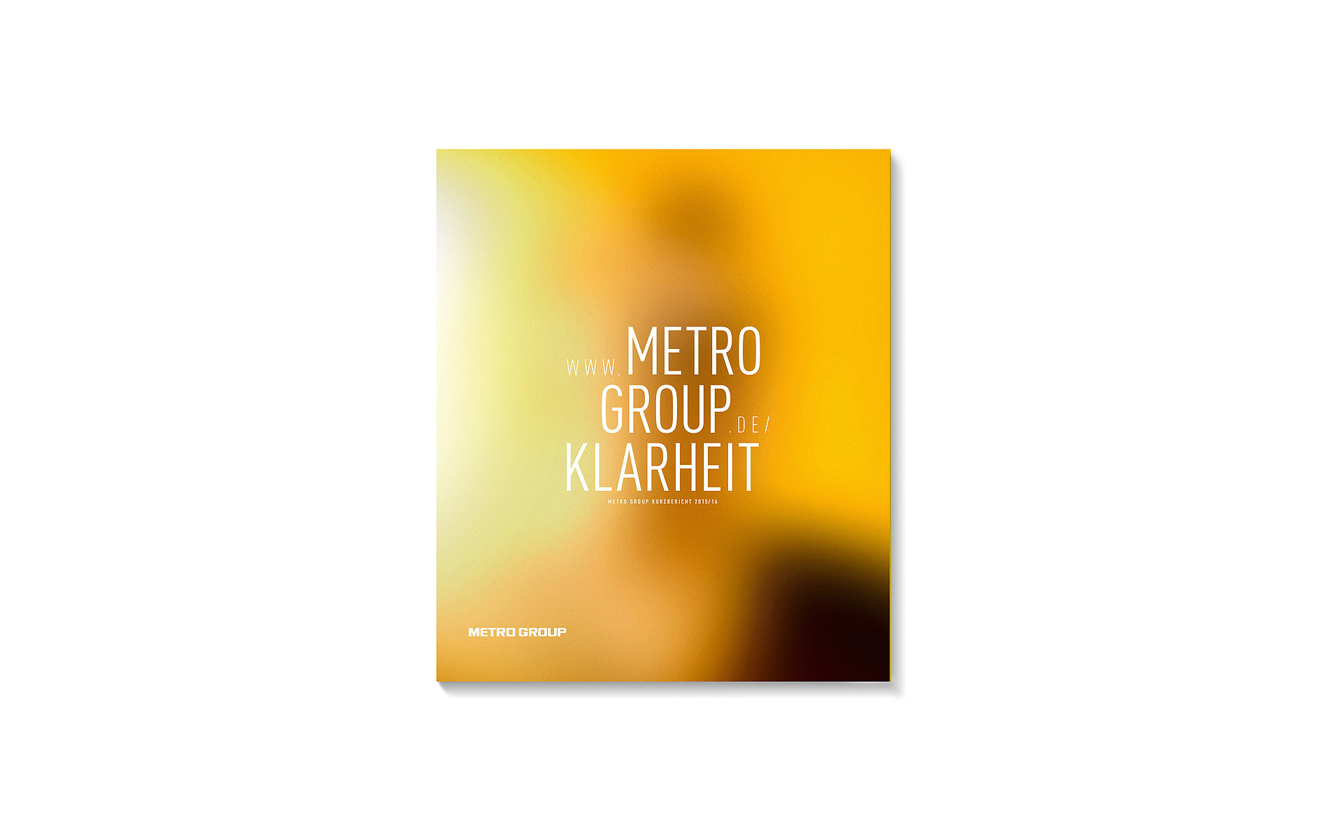 Clarity – METRO GROUP Annual Report 2015/2016 | Red Dot Design Award