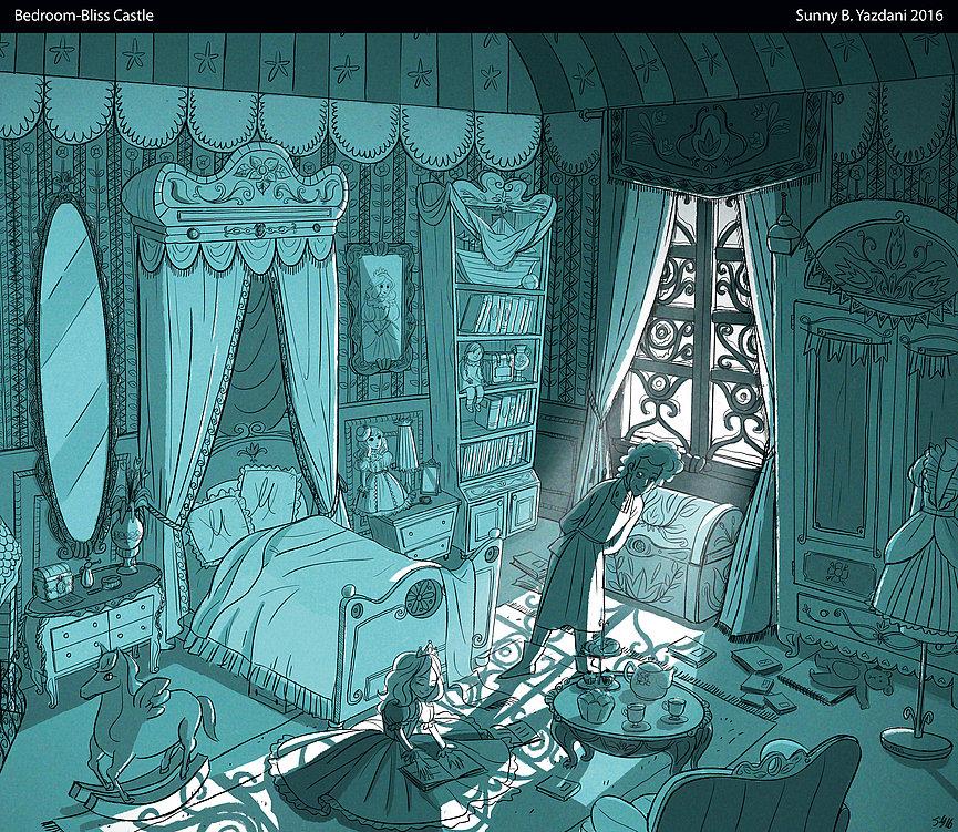 Bliss Castle Bedroom   Red Dot Design Award