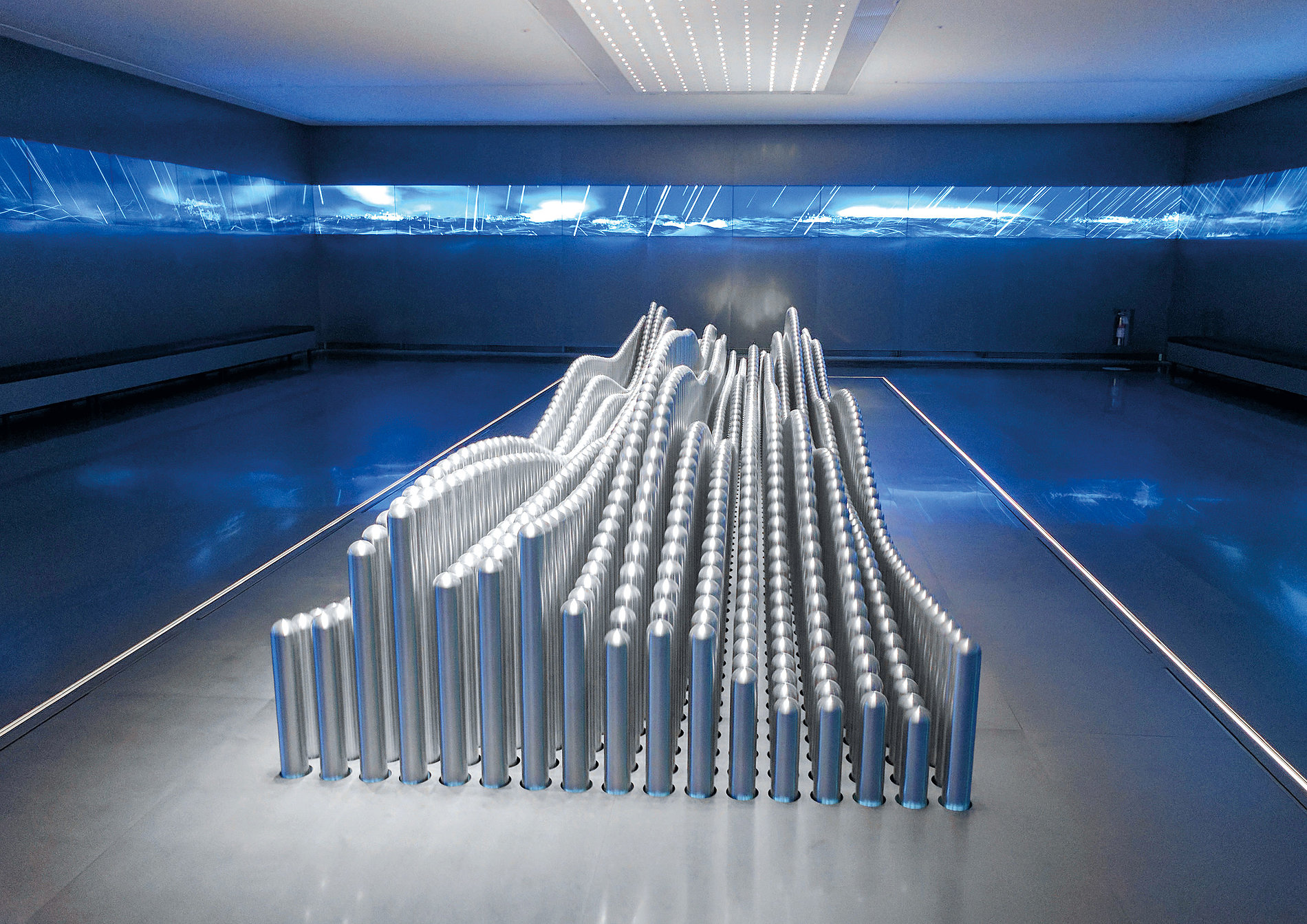 Hyundai Motorstudio Goyang – Kinetic Sculpture | Red Dot Design Award