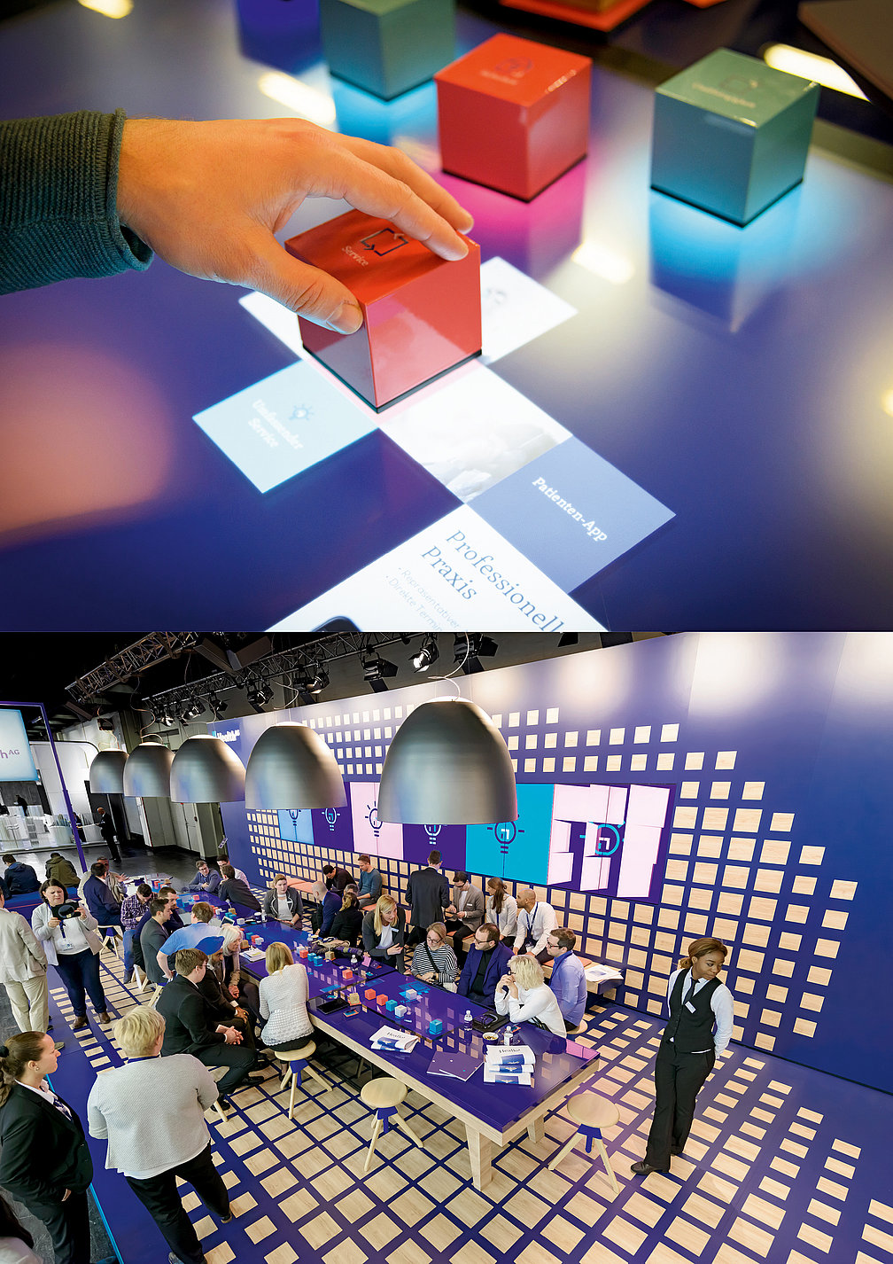 Health AG – Interactive Multitouch Brand Table   Red Dot Design Award