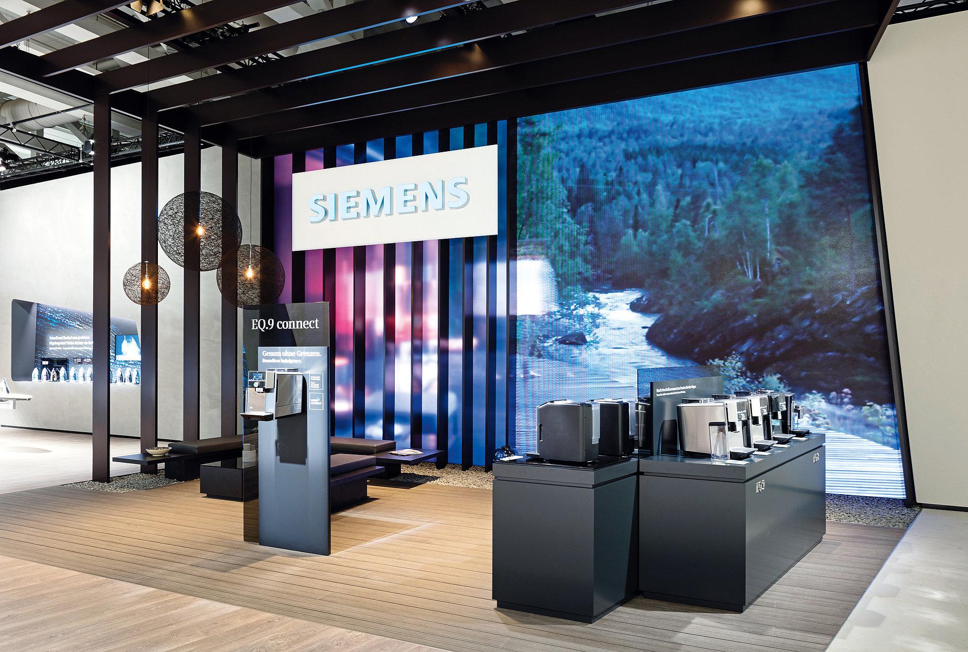 Urban Loft – Siemens Home Appliances Fair Stand IFA 2016 | Red Dot Design Award