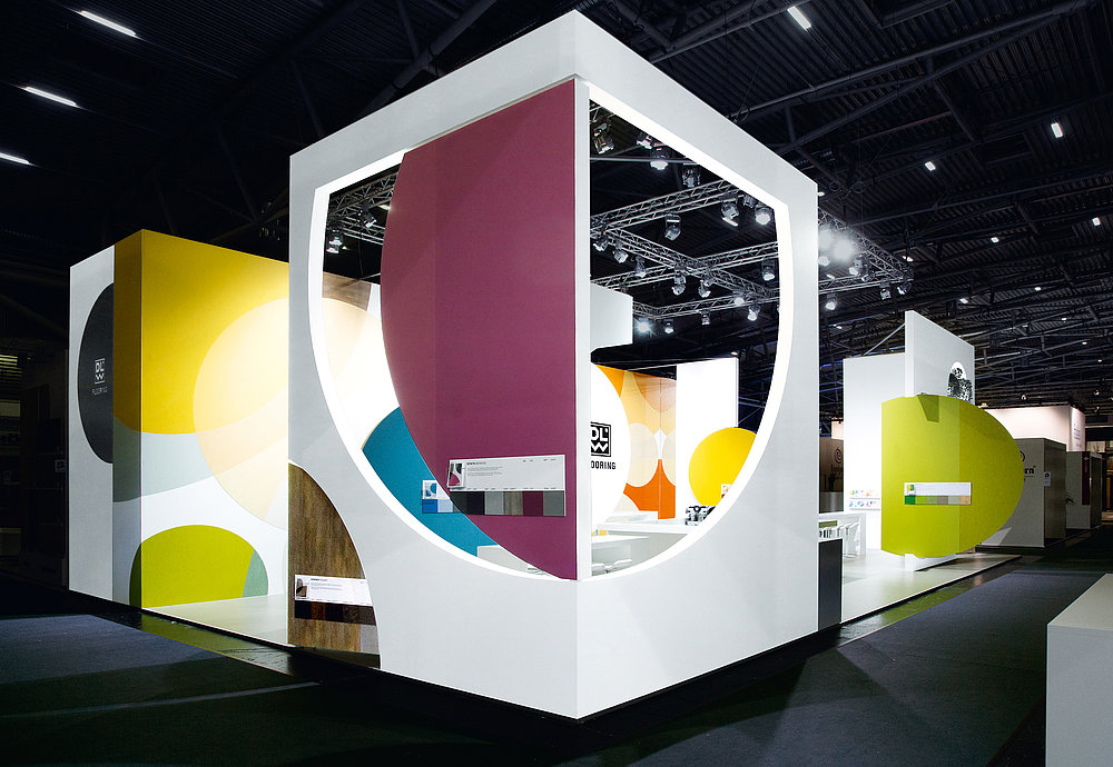 DLW Flooring Fair Stand BAU 2017 | Red Dot Design Award