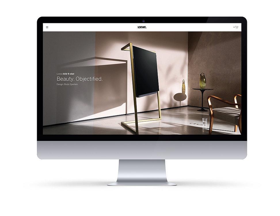 loewe.tv | Red Dot Design Award
