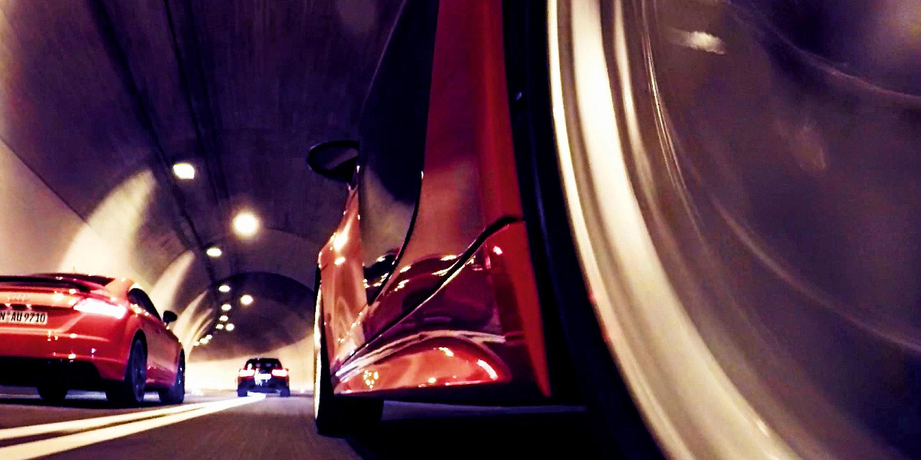 Audi Sport Brandbook – Tunnel | Red Dot Design Award
