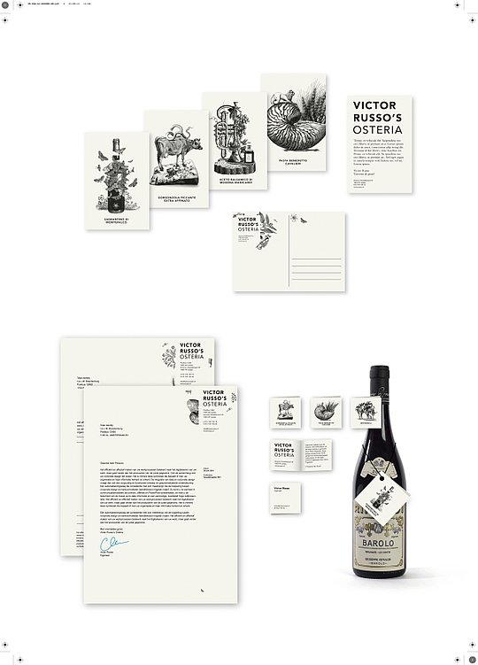 Victor Russo's Osteria | Red Dot Design Award