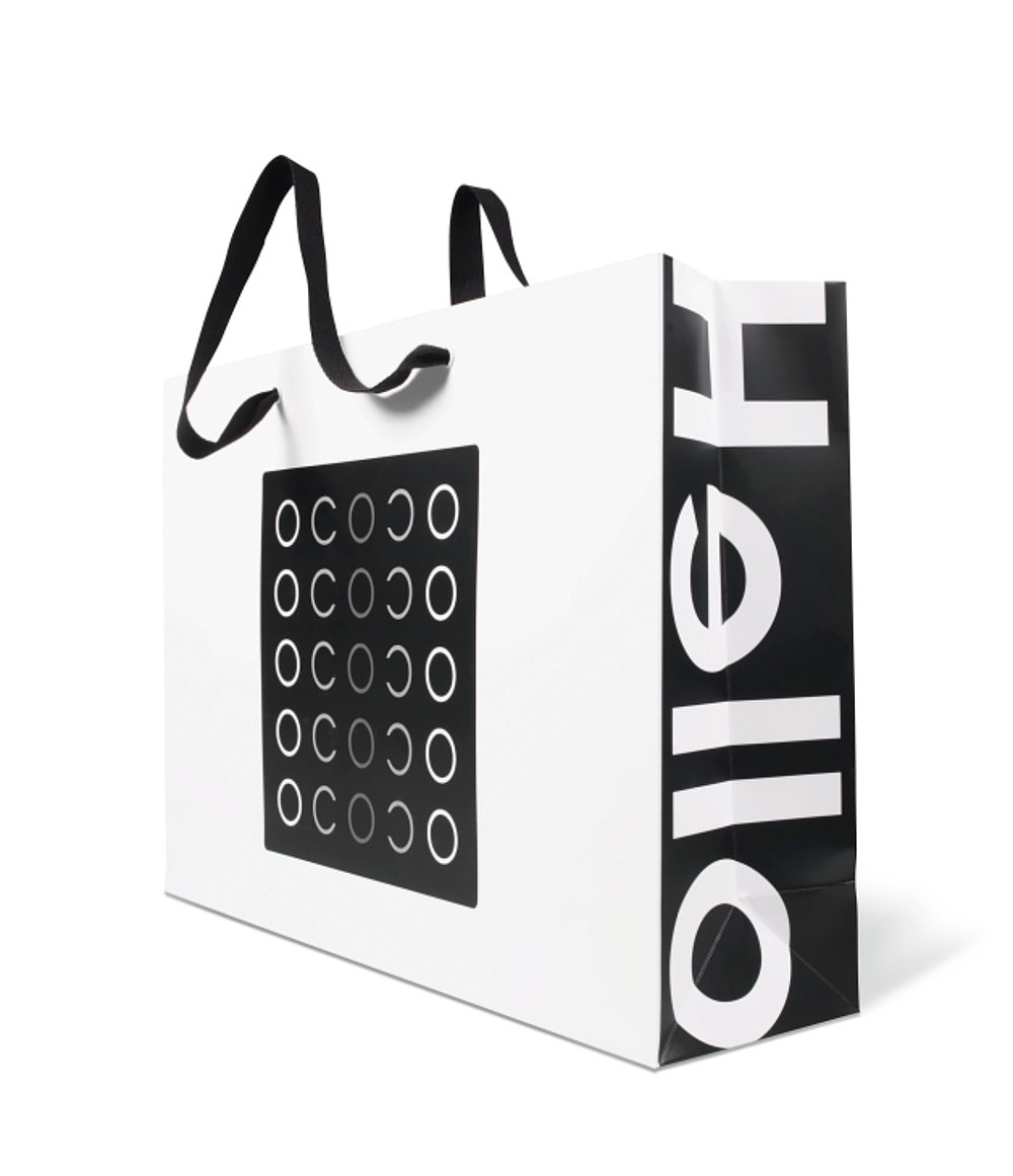 OCOCO new fashion brand identity | Red Dot Design Award