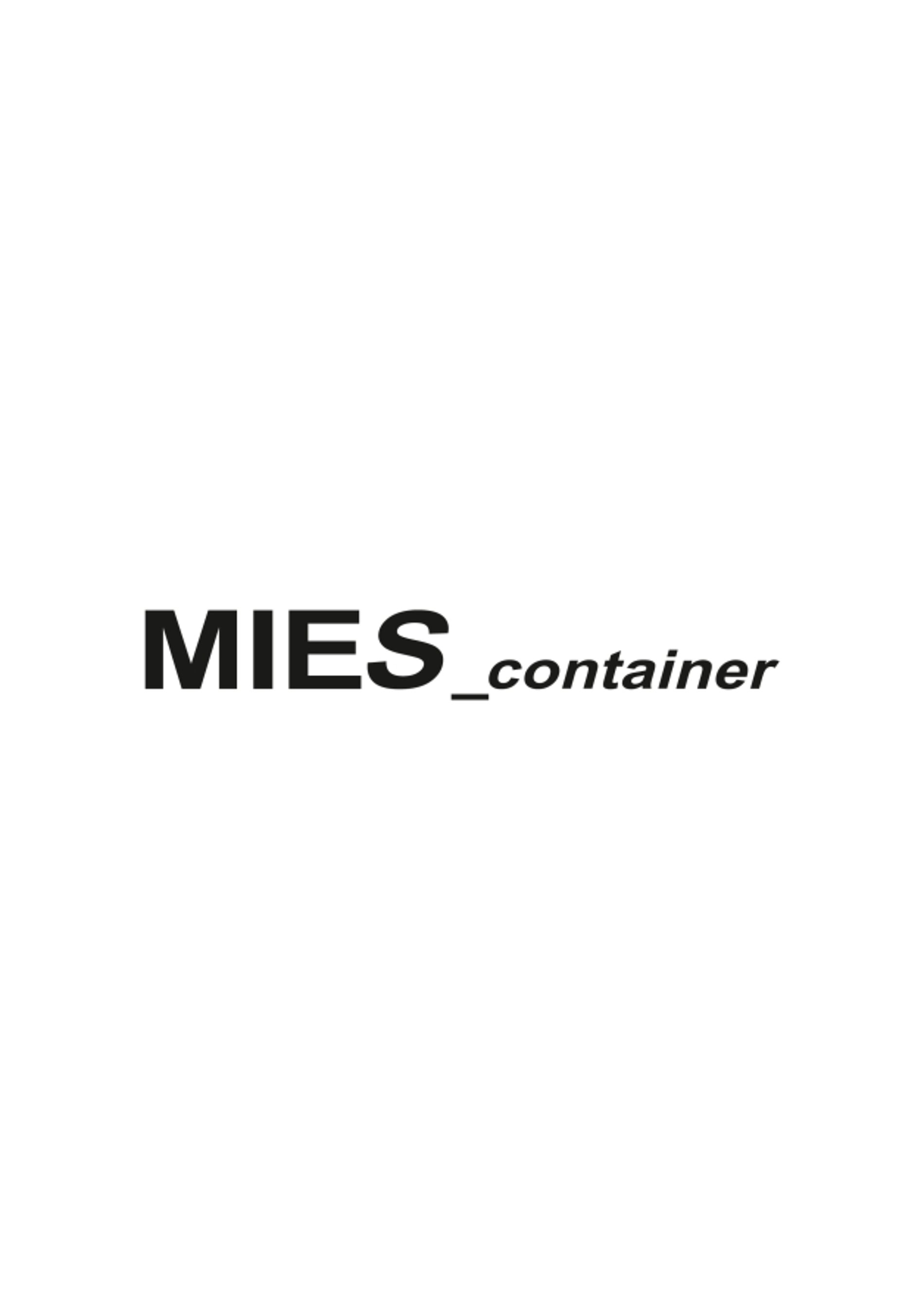 MIES_container | Red Dot Design Award