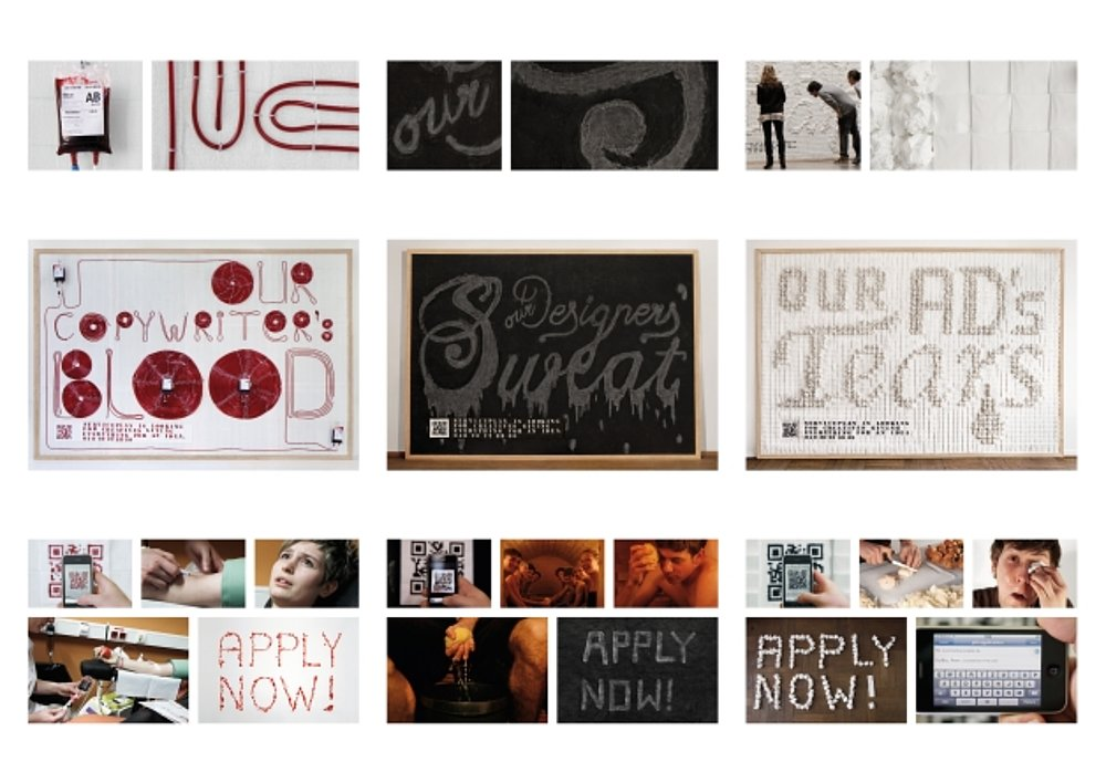Posters of Passion: Blood, Sweat & Tears | Red Dot Design Award