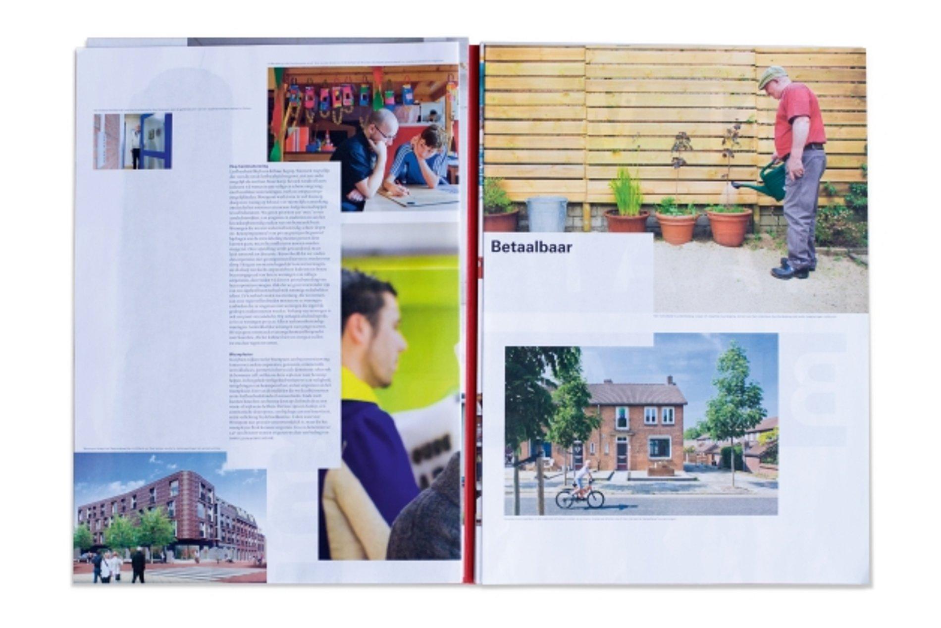 Woonpunt Annual Report 2010 | Red Dot Design Award