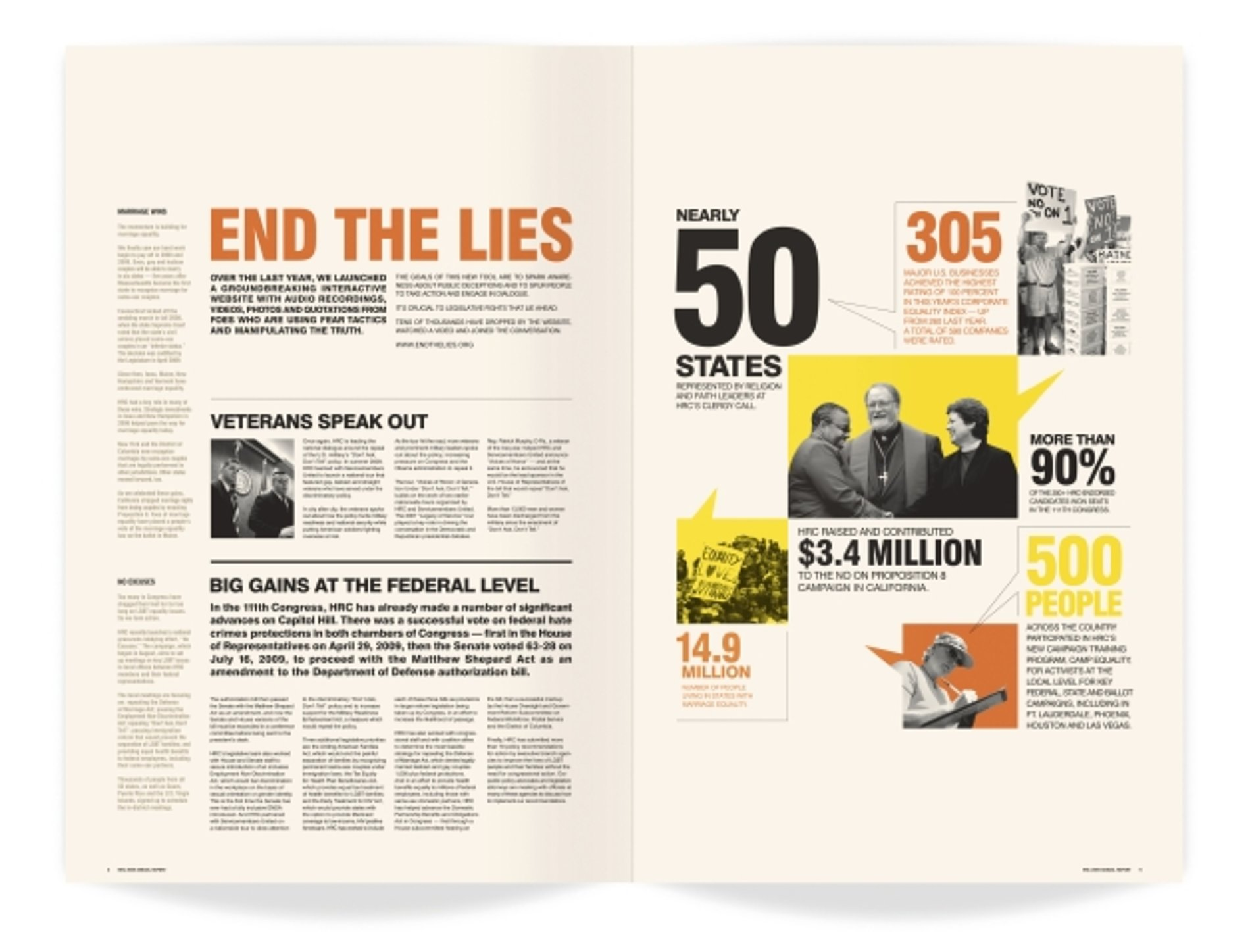 END THE LIES | Red Dot Design Award
