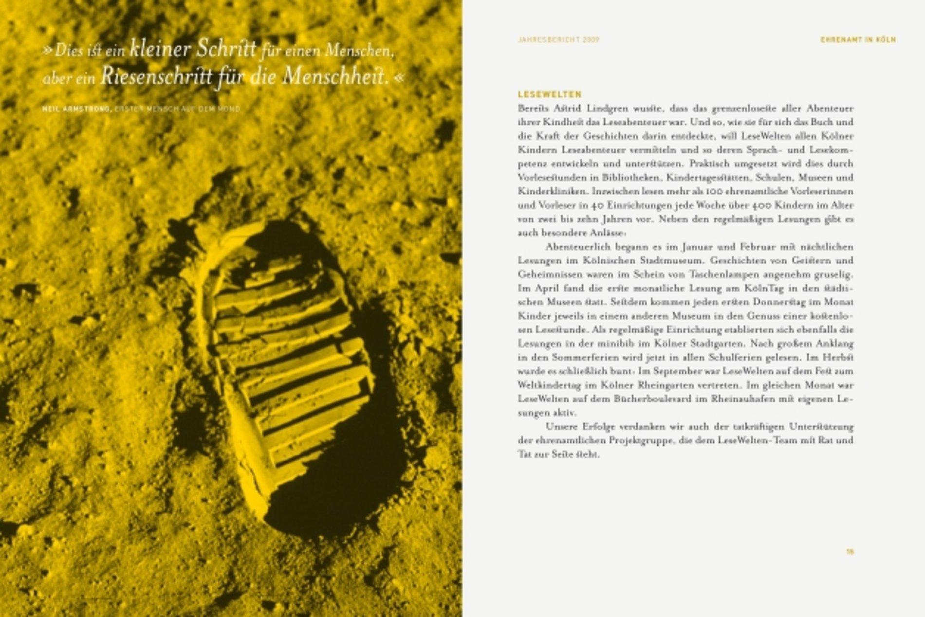 KFA Annual Report 2009 | Red Dot Design Award
