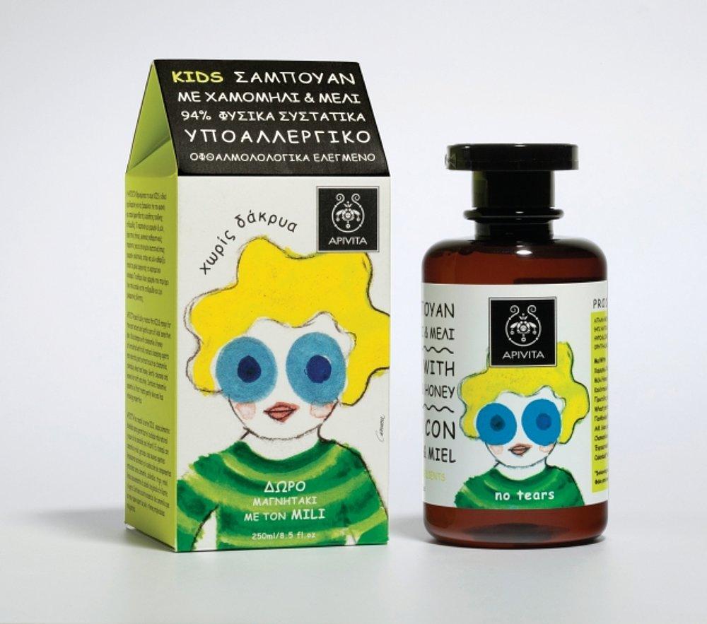 Apivita Kids – Shampoo range for children | Red Dot Design Award