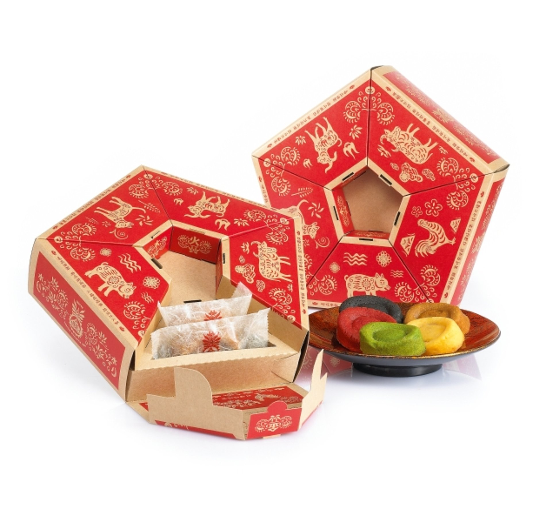 Wu Xing Fortune Cake | Red Dot Design Award