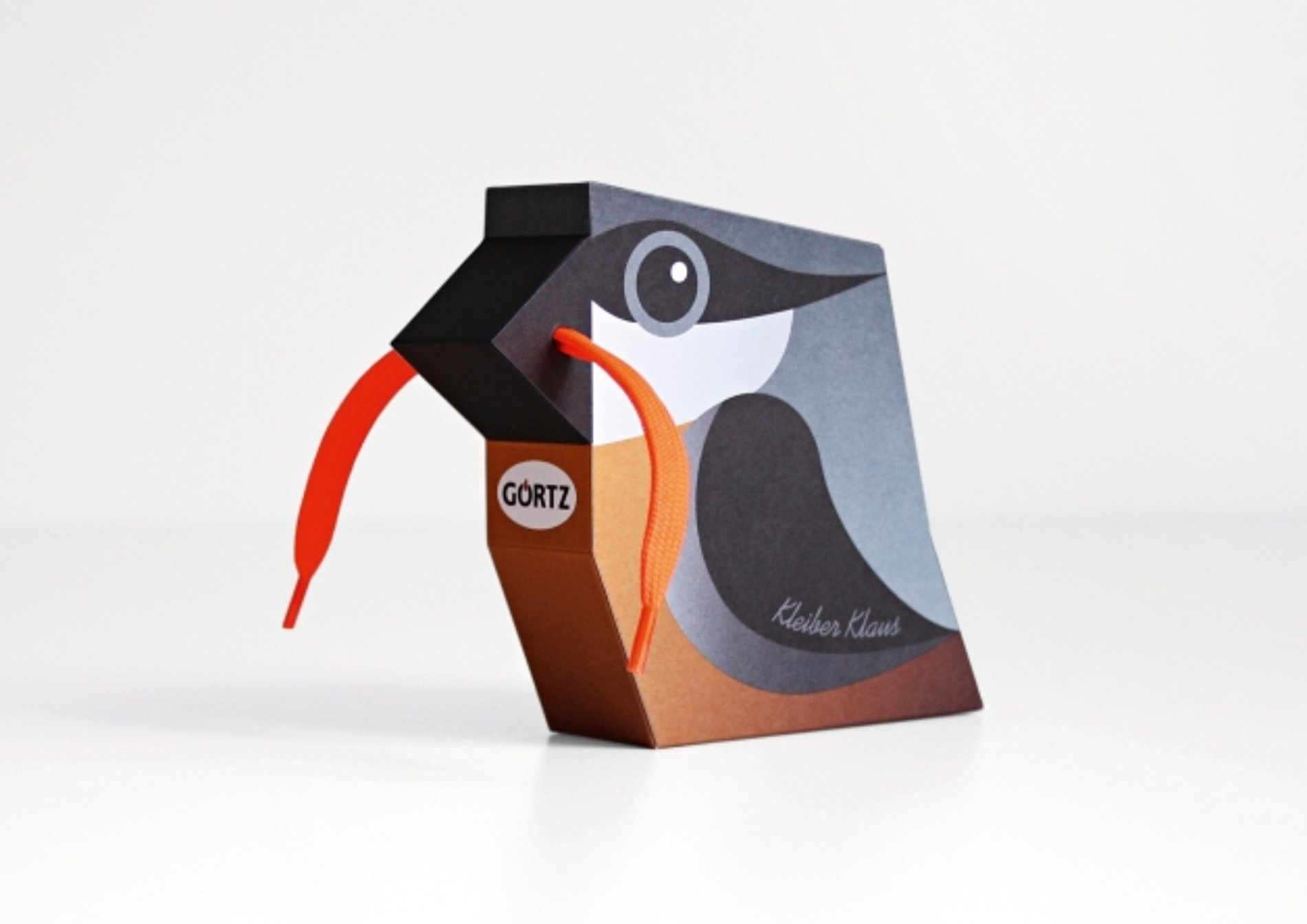 Schnürsenkel-Vögel | Red Dot Design Award