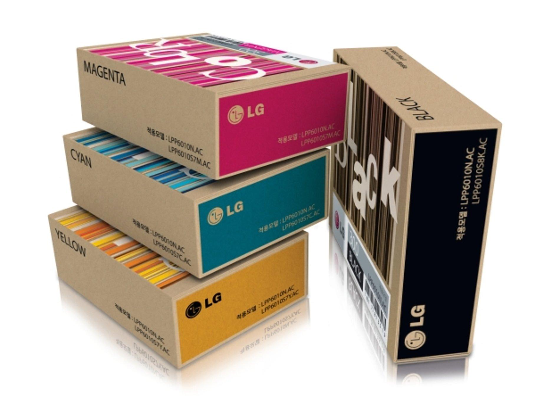 LPP6010N Printer Ink Cartridge Packaging   Red Dot Design Award