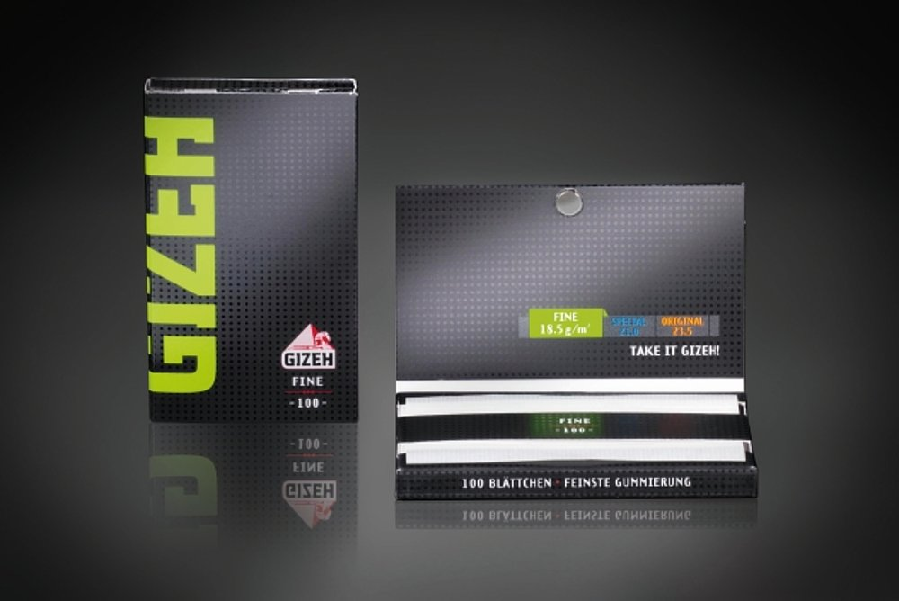 GIZEH BLACK Rolling Papers | Red Dot Design Award