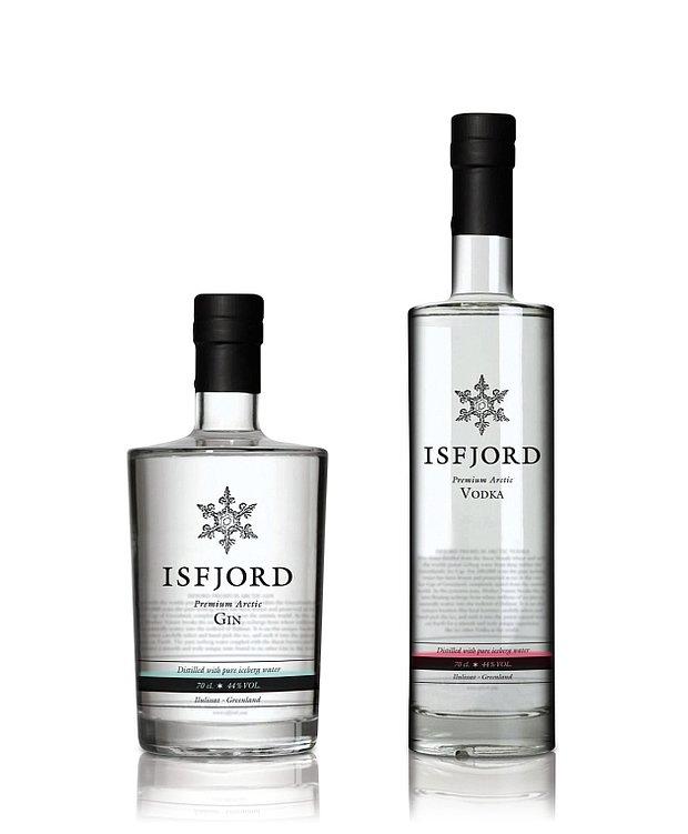 ISFJORD Premium Arctic Gin & Vodka | Red Dot Design Award