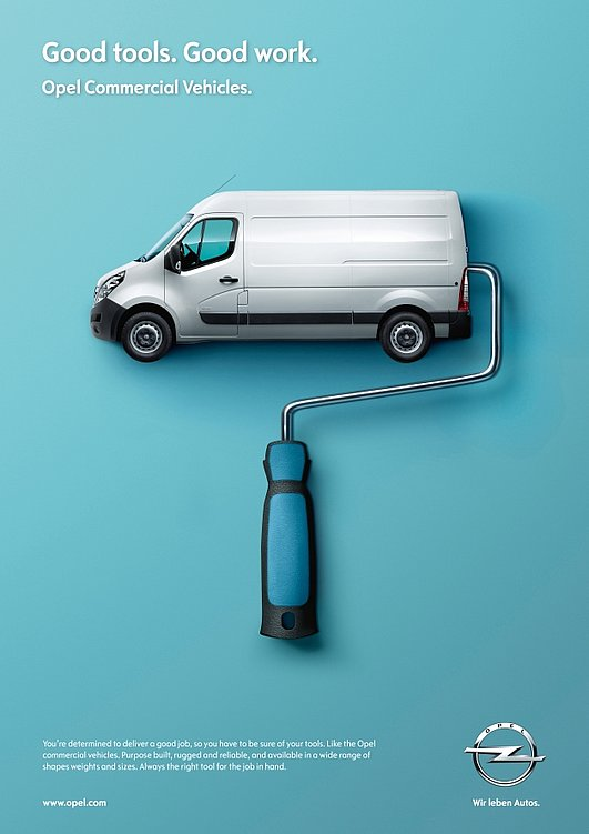 Opel LCV – Good Tools. Good Work. | Red Dot Design Award