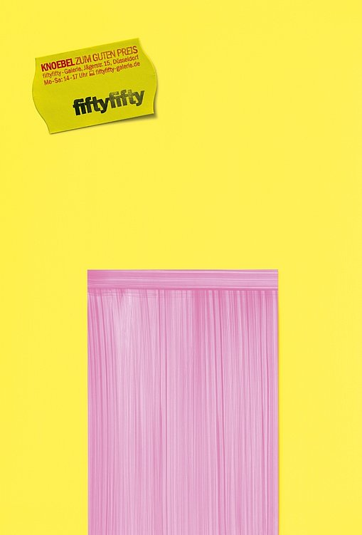 Die fiftyfifty Galerie Plakate | Red Dot Design Award