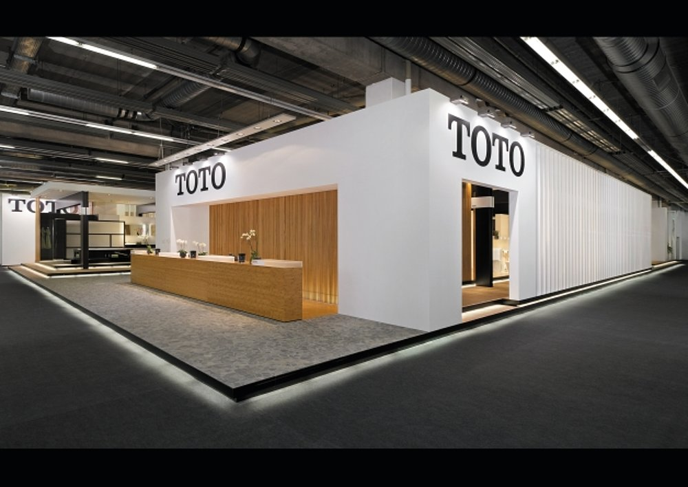 TOTO Trade Fair Stand ISH 2011 | Red Dot Design Award