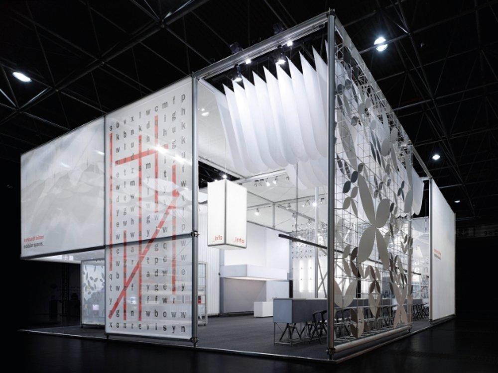 Burkhardt Leitner constructiv Trade Fair Stand EuroShop 2011 | Red Dot Design Award