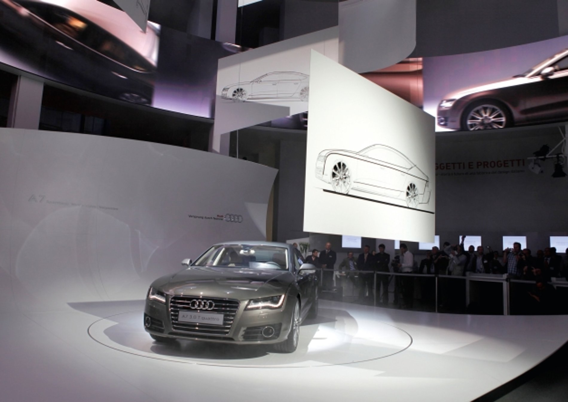 Audi A7 Sportback World Premiere | Red Dot Design Award