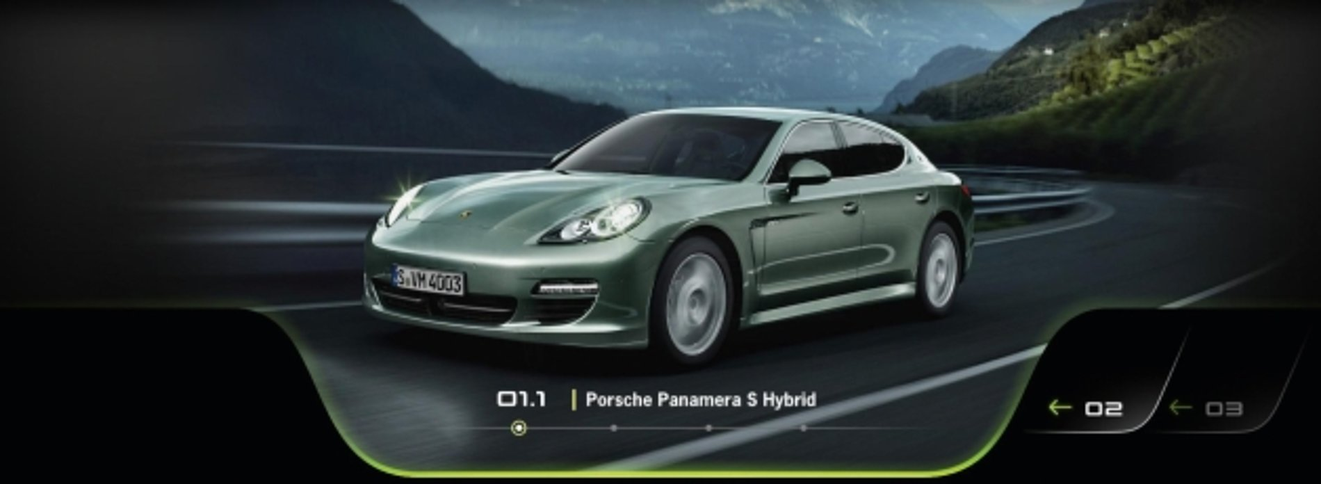 Porsche Panamera S-Hybrid Press Launch | Red Dot Design Award