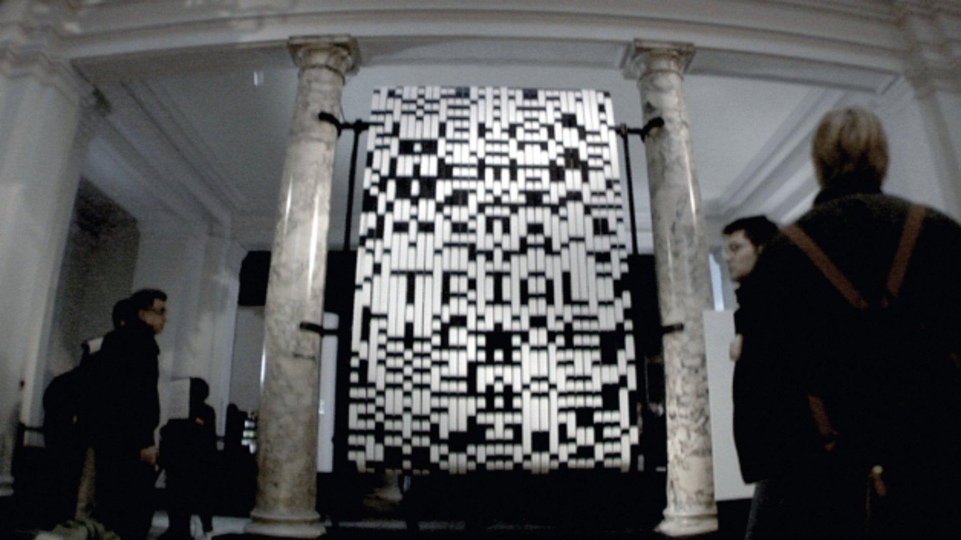 bit.code by Julius Popp   Red Dot Design Award