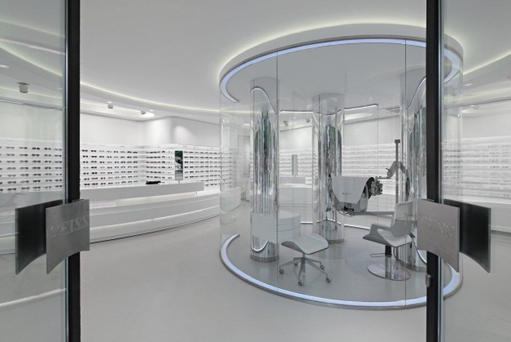 Zeiss Optician Store Berlin | Red Dot Design Award