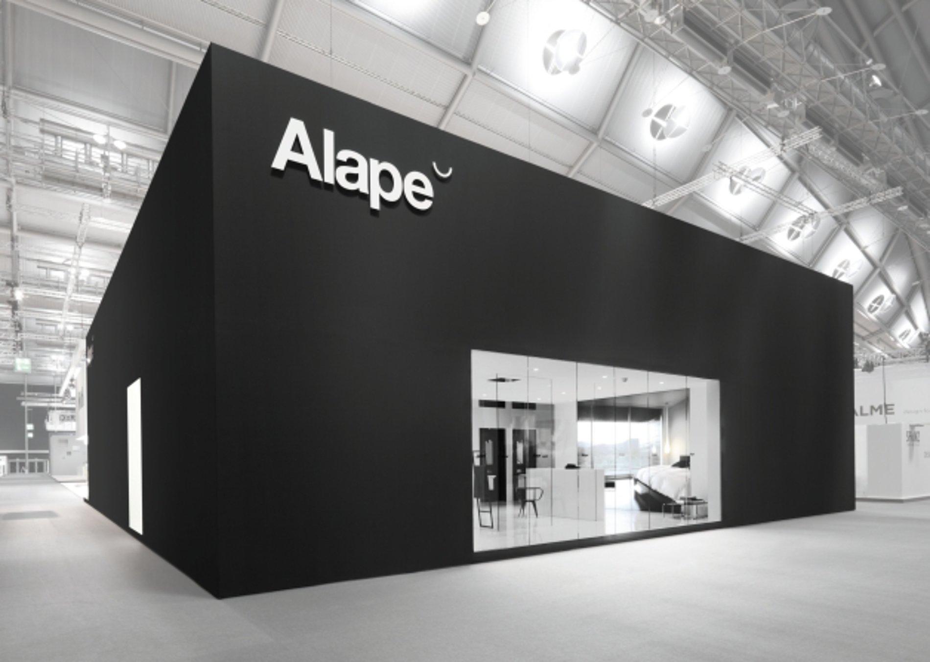 red dot design award alape trade fair stand ish 2011. Black Bedroom Furniture Sets. Home Design Ideas