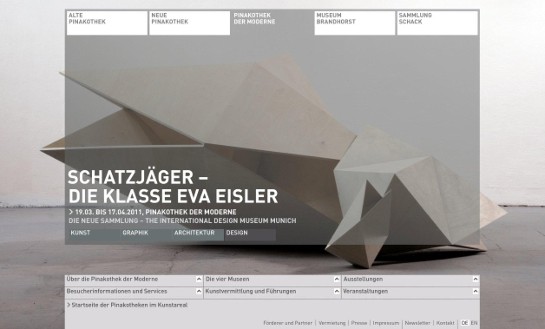 pinakothek.de | Red Dot Design Award