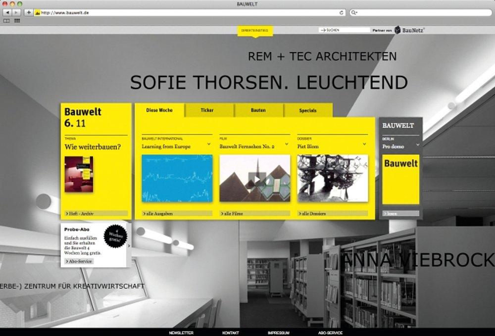 bauwelt.de | Red Dot Design Award
