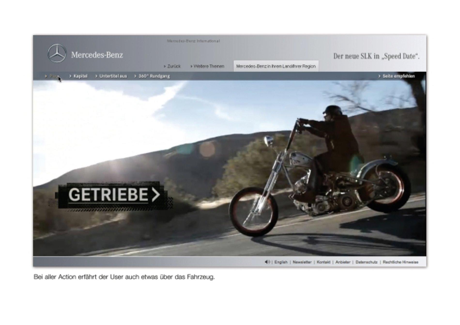 Mercedes-Benz SLK Speed Date | Red Dot Design Award