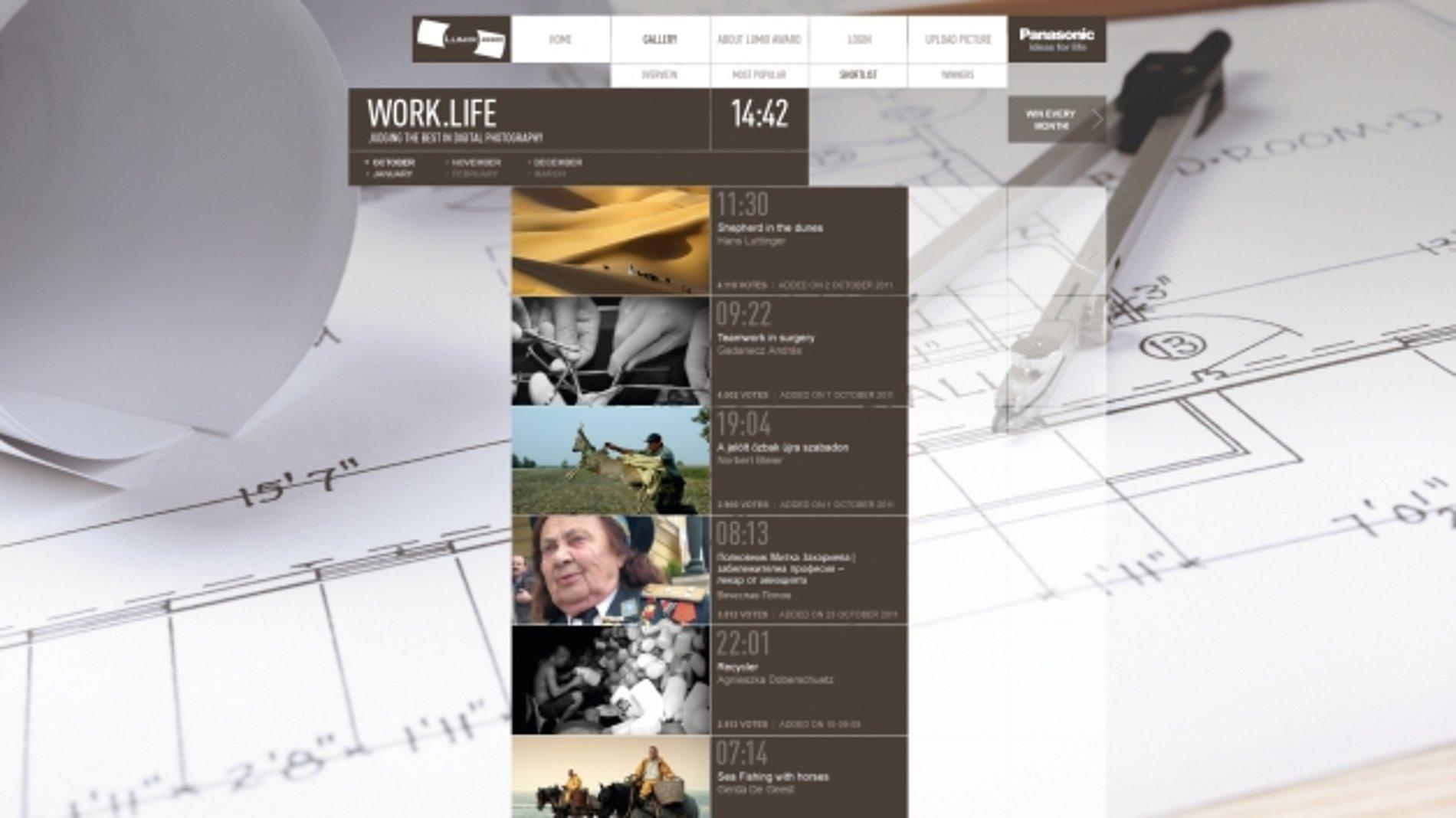 Work.Life – Panasonic LUMIX Award 2010 | Red Dot Design Award