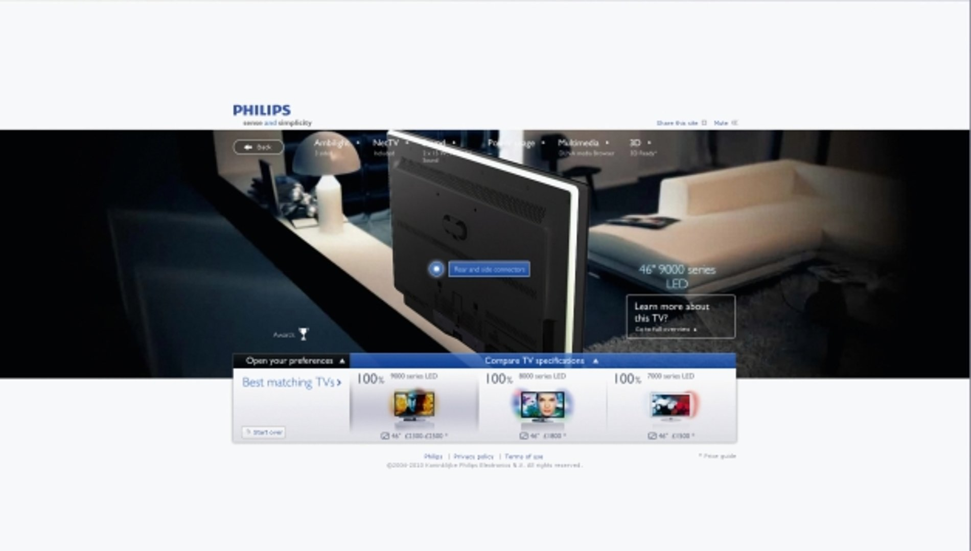 Philips TV Buying Guide   Red Dot Design Award