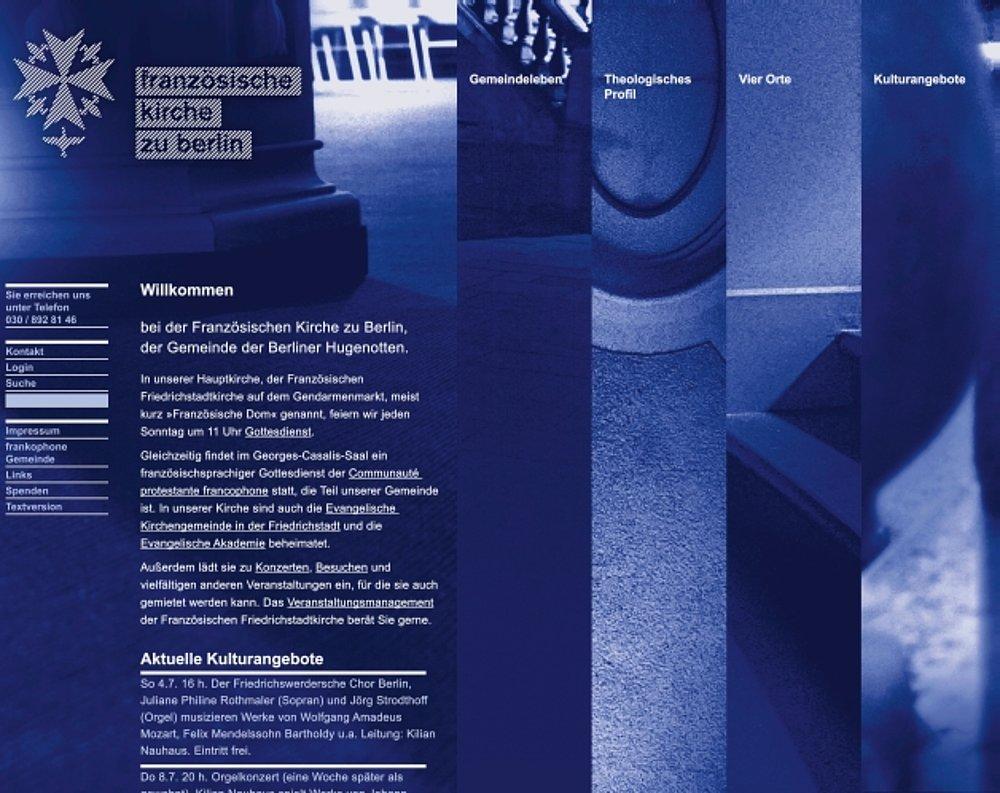 franzoesische-kirche.de | Red Dot Design Award