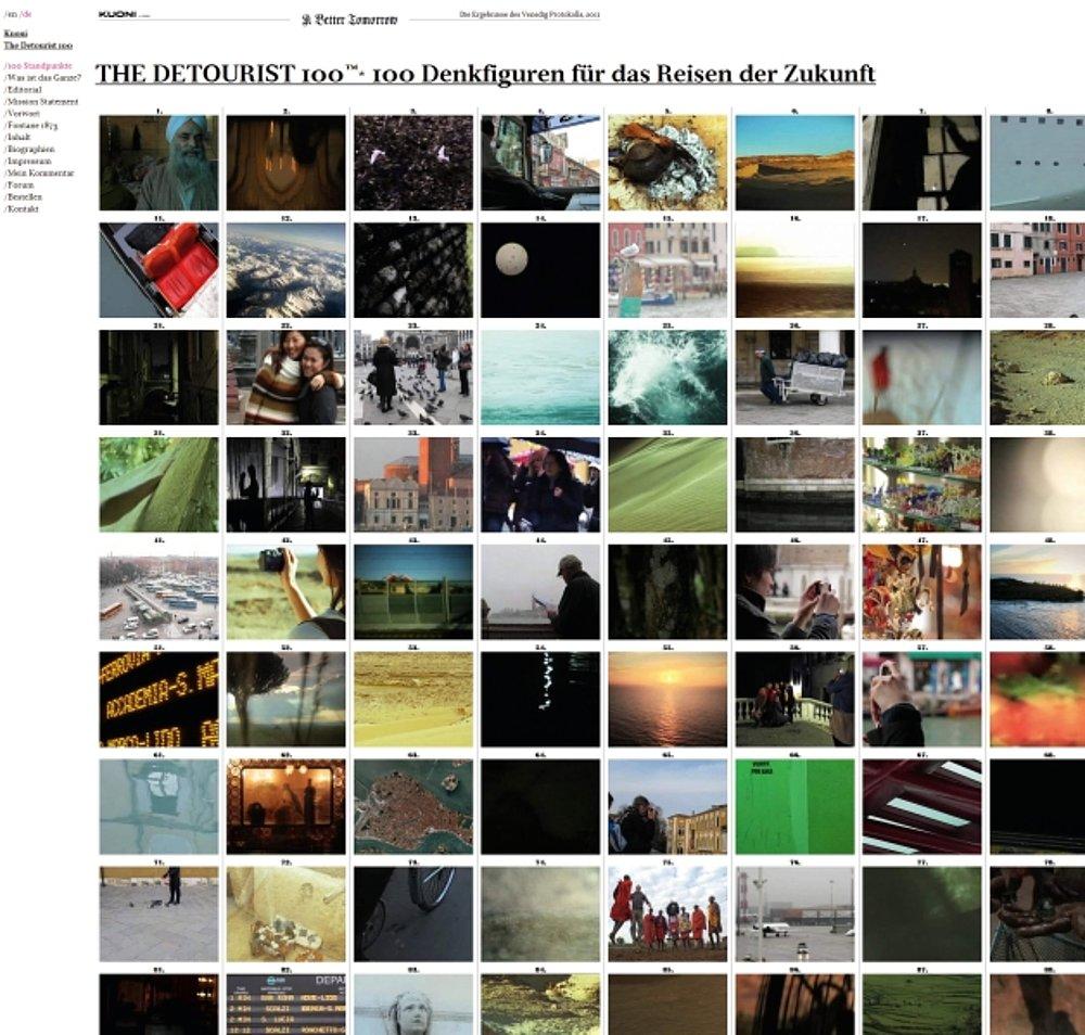 The Detourist 100 | Red Dot Design Award
