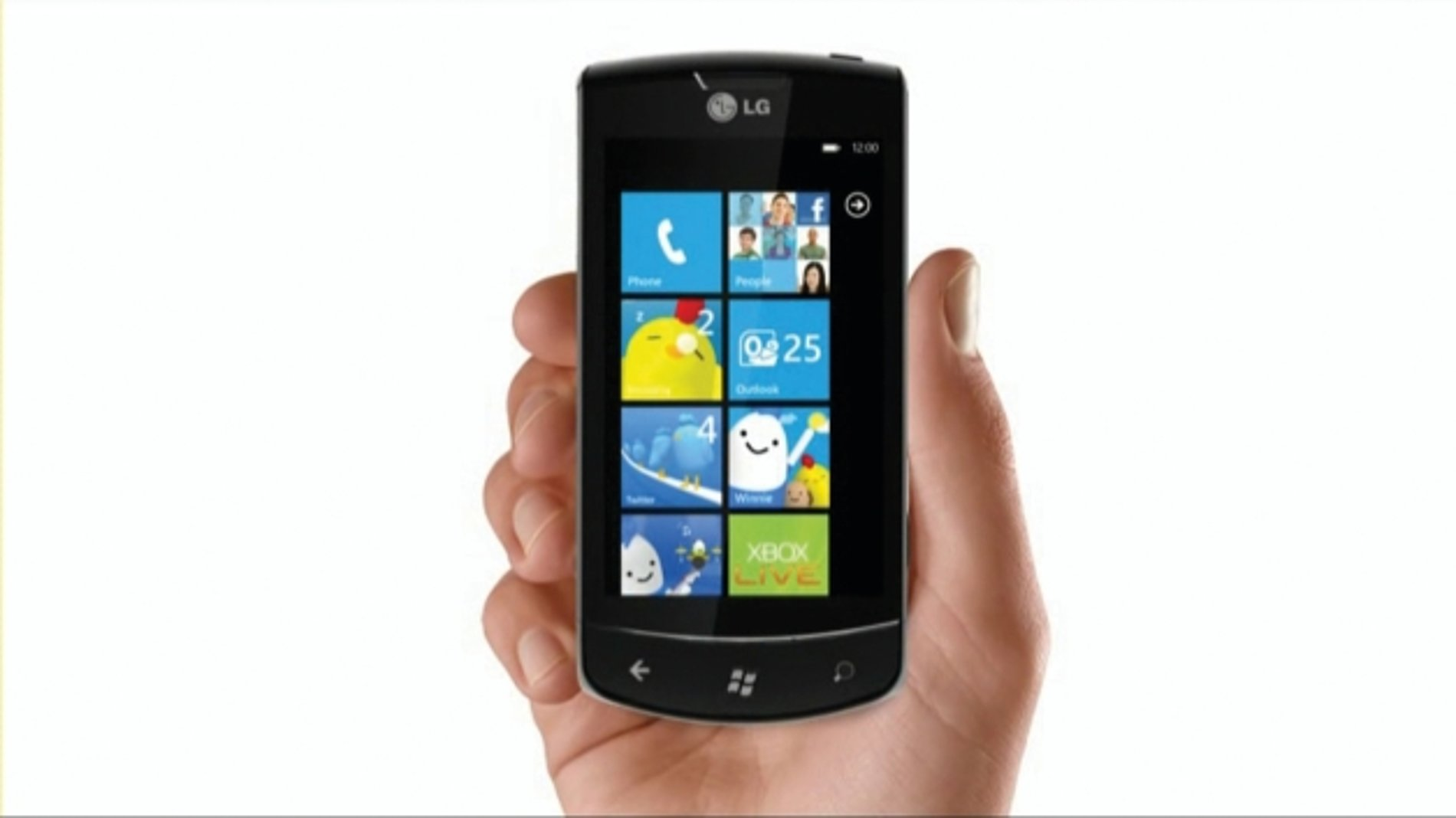LG Windows Phone with Winny | Red Dot Design Award