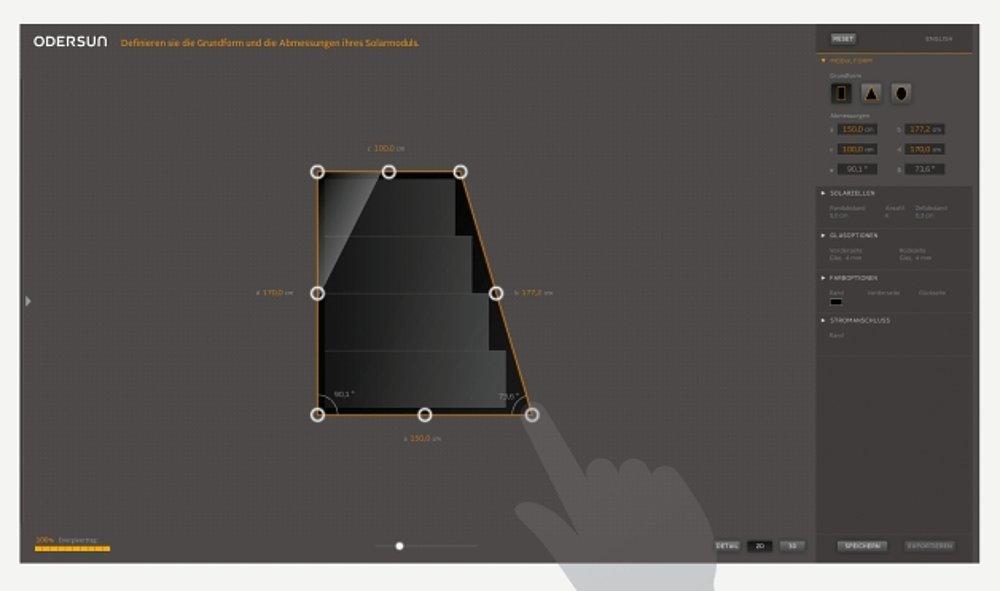 Solarmodul-Designer | Red Dot Design Award