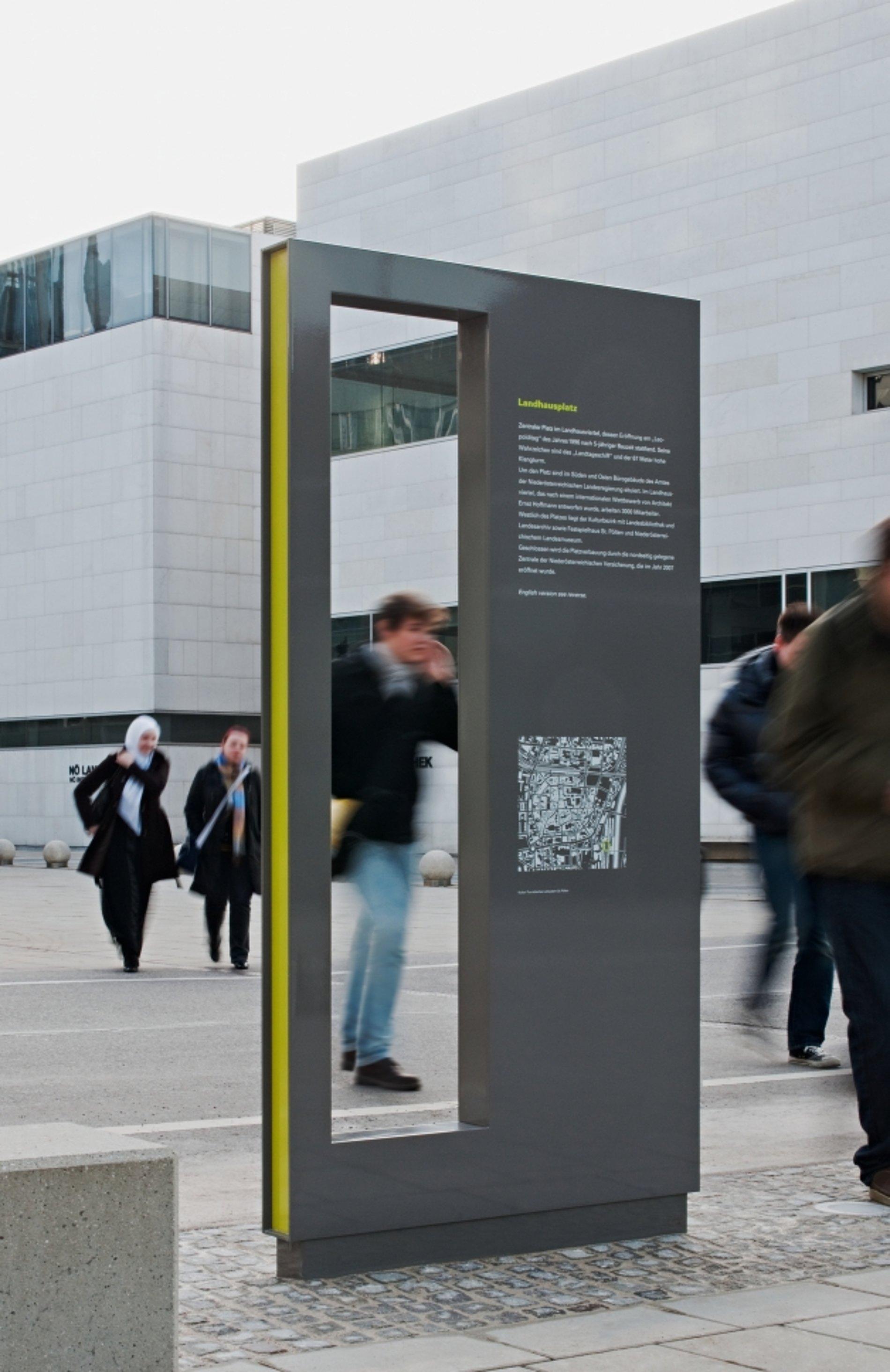 Kultur-Touristisches Leitsystem | Red Dot Design Award