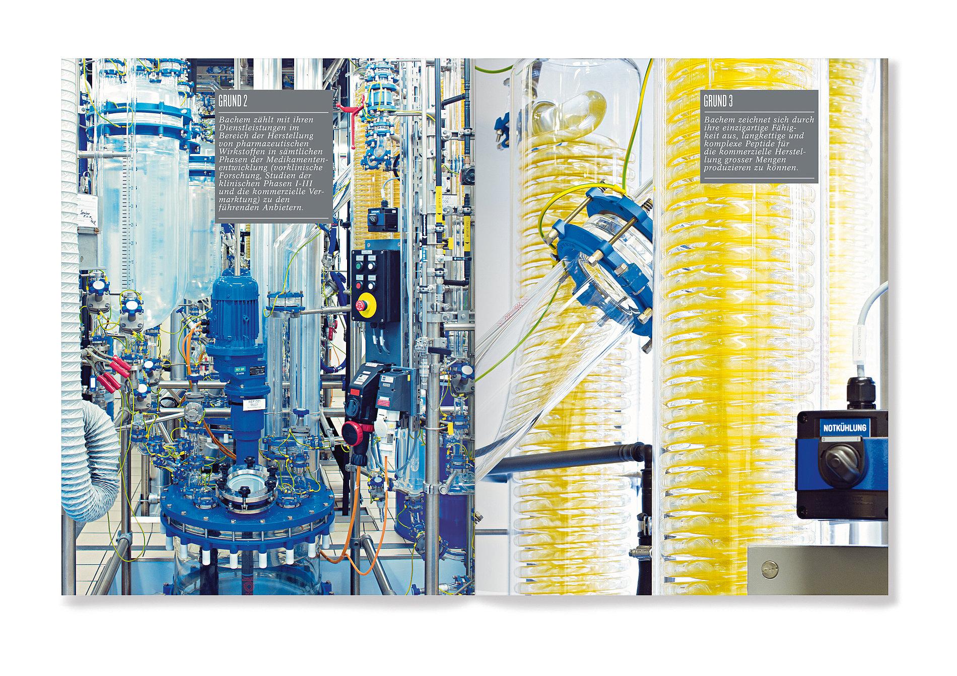 Bachem  Annual Report 2011 | Red Dot Design Award