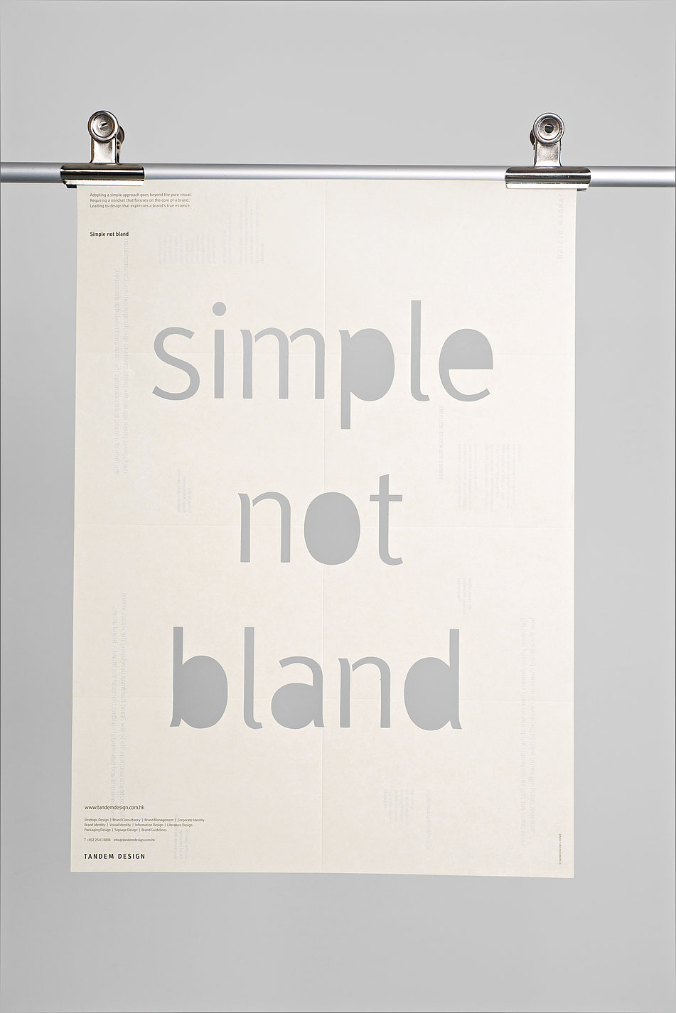 Simple not bland   Red Dot Design Award