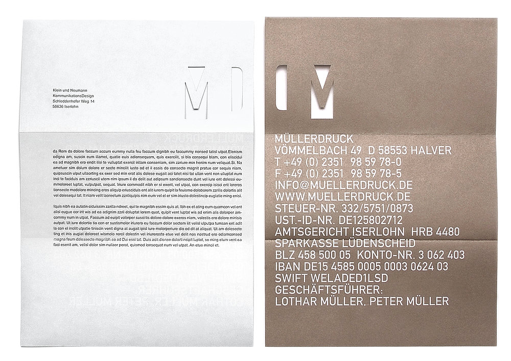 Müllerdruck   Red Dot Design Award