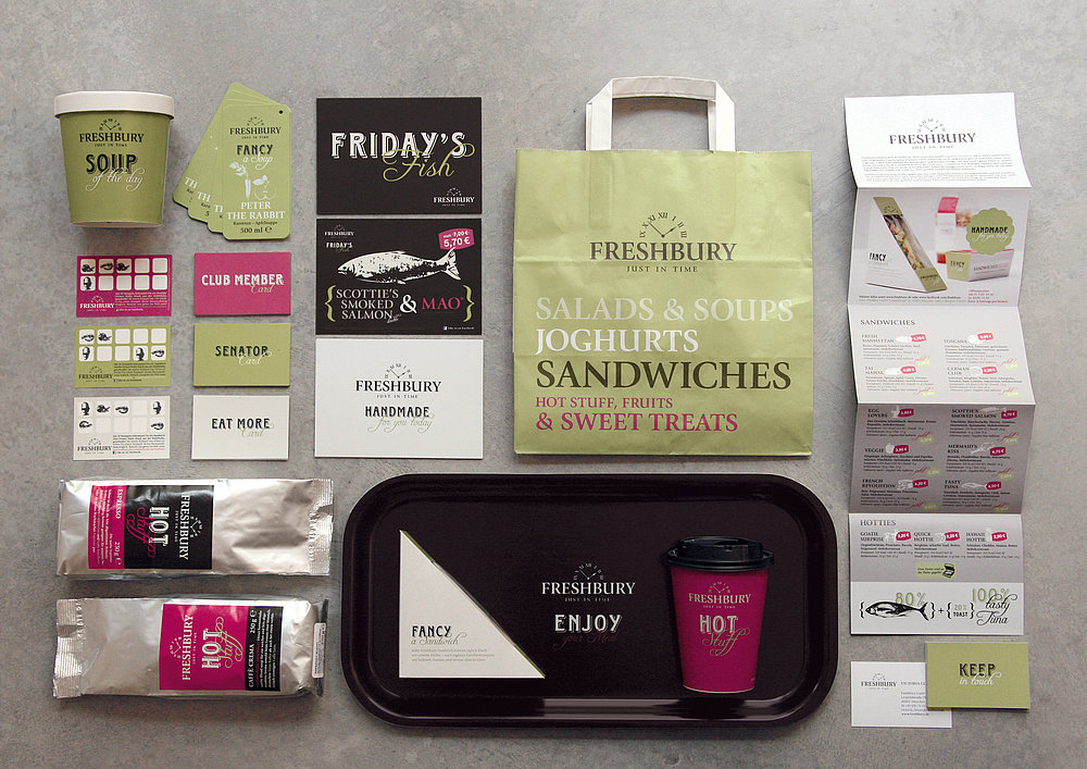 Freshbury – famous English sandwiches | Red Dot Design Award